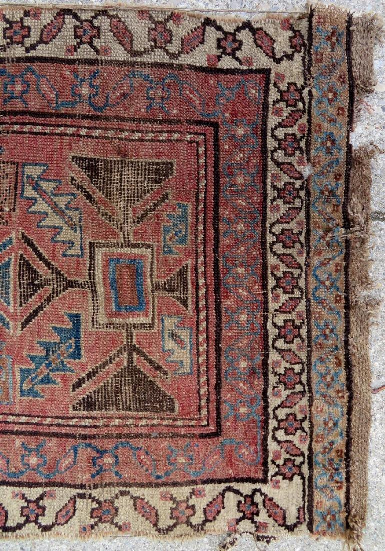 """Oriental rug - runner - 13' 8"""" x 2' 7"""" - 19th century - - 4"""