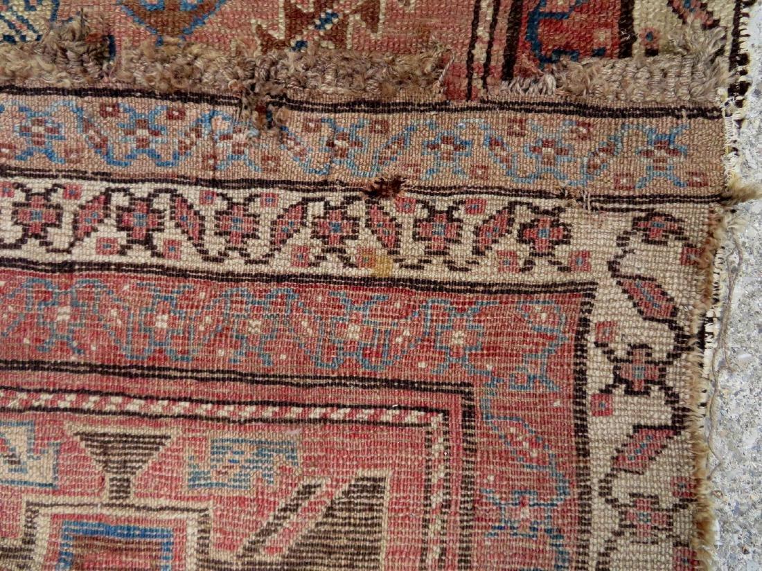 """Oriental rug - runner - 13' 8"""" x 2' 7"""" - 19th century - - 5"""