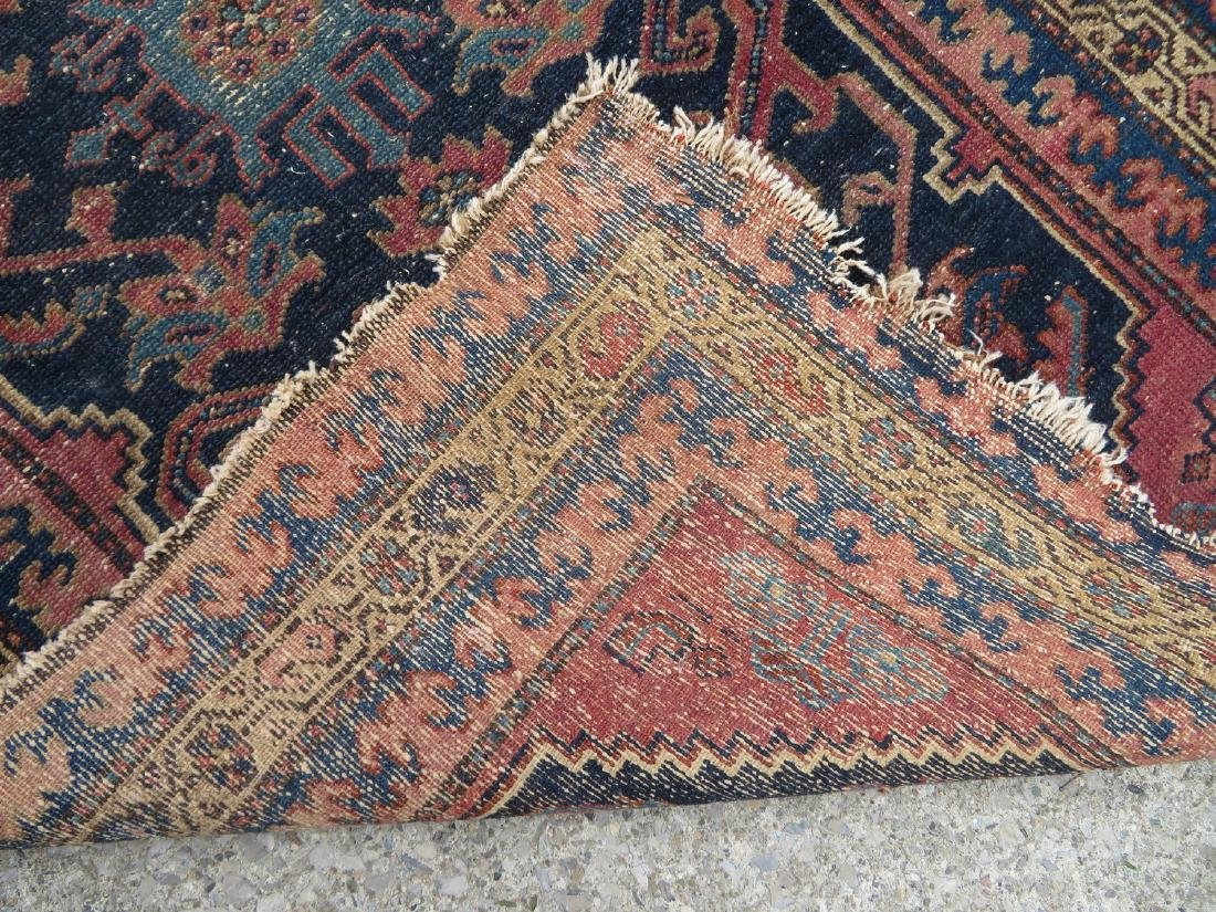 """Oriental scatter rug, 6' 2"""" x 3' 1"""". Some use wear, - 4"""
