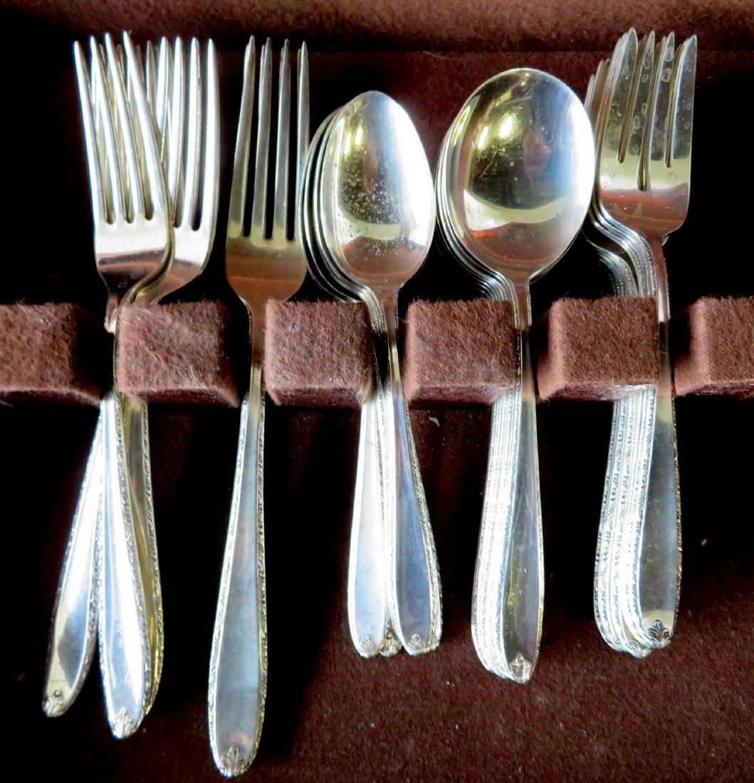 "Alvin ""Southern Charm"" sterling silver flatware set, 39"