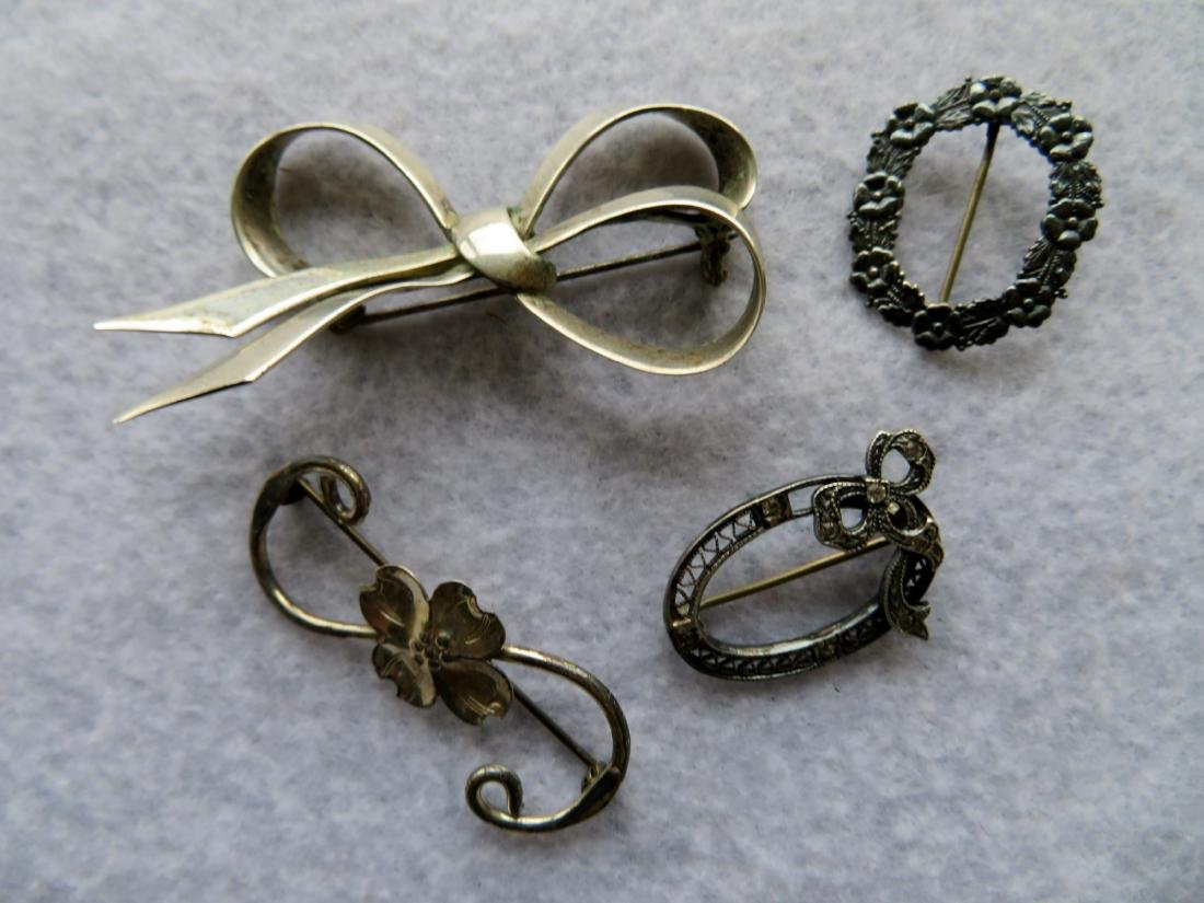 Grouping of Sterling jewelry, all in good condition - 5