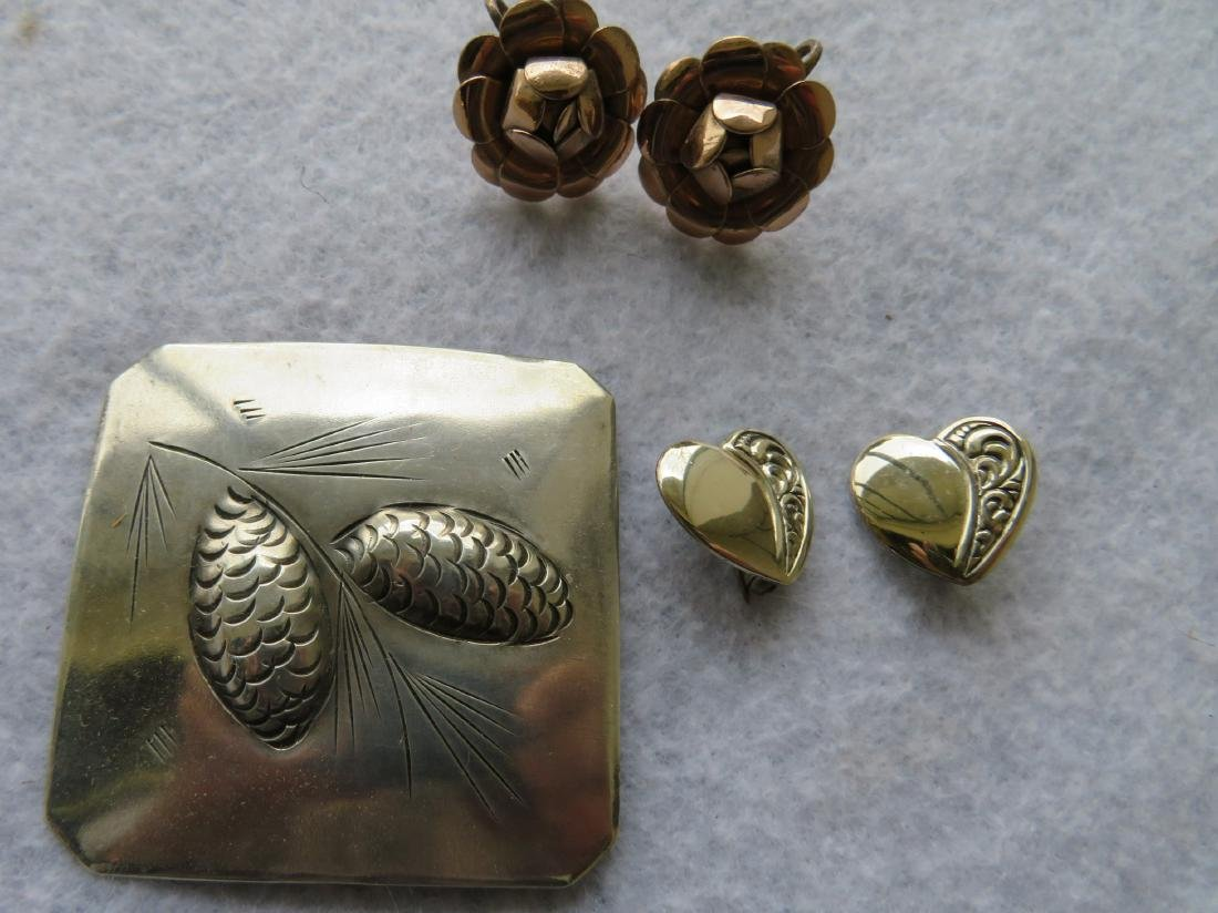 Grouping of Sterling jewelry, all in good condition - 7