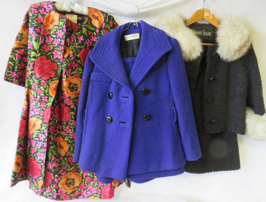 Three lady's garments circa 1970 sold by Bonwit Teller