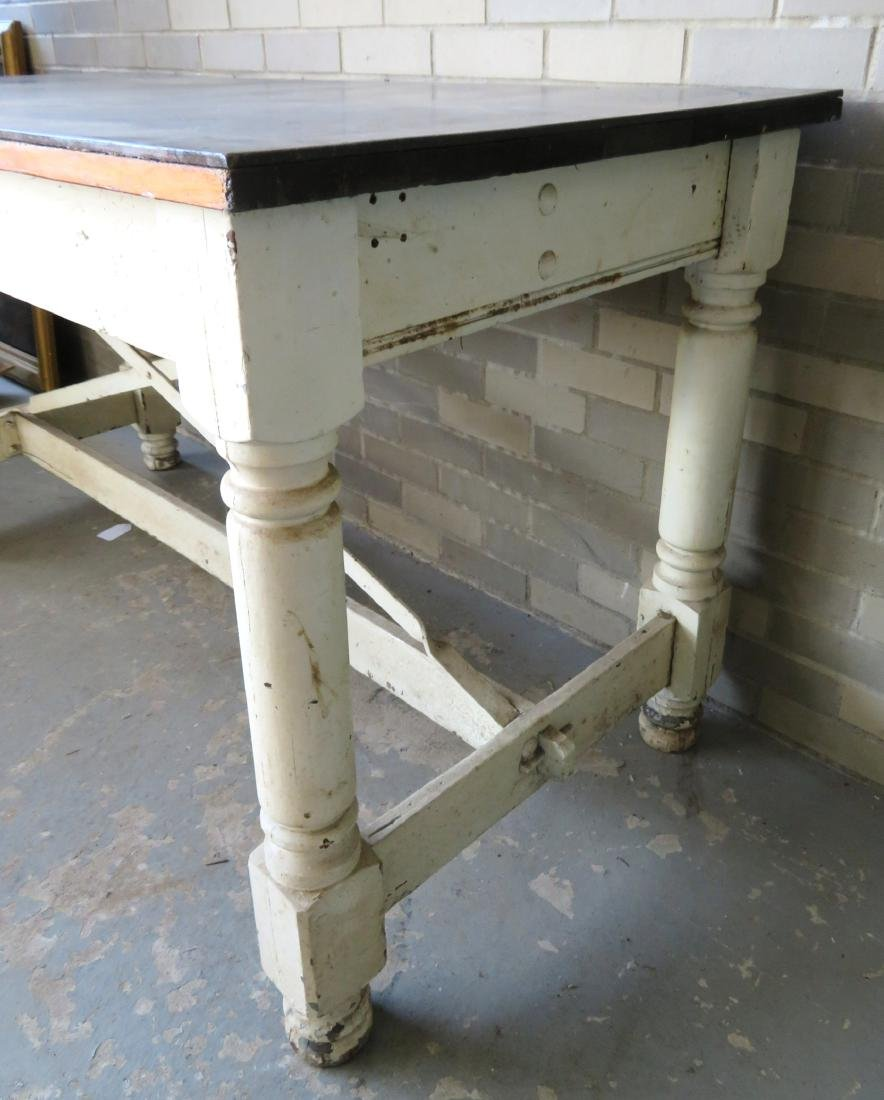 Large work table reportedly used in the old Smith Cough - 4