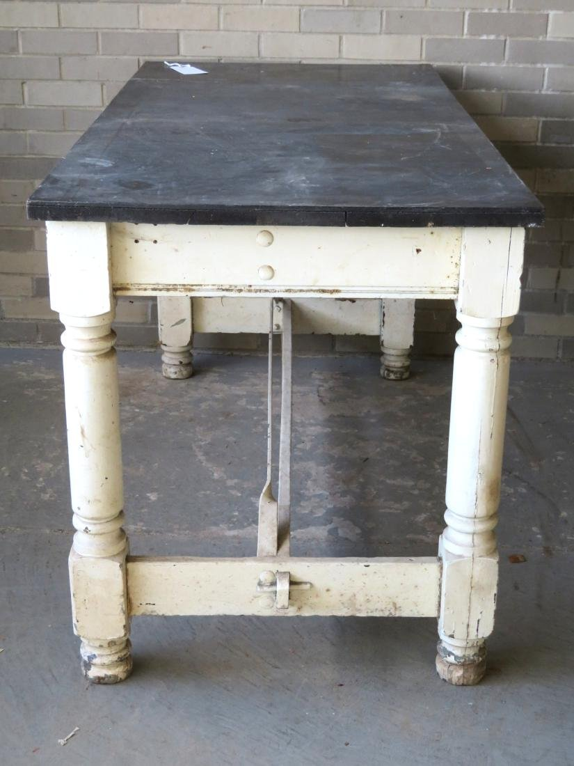 Large work table reportedly used in the old Smith Cough - 5