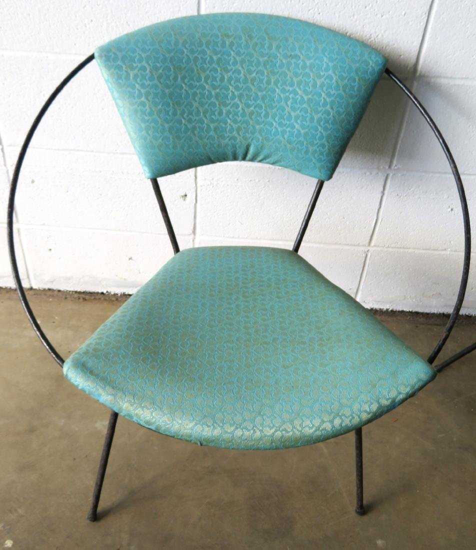 Two mid century modern Circle Chairs, attributed to - 2