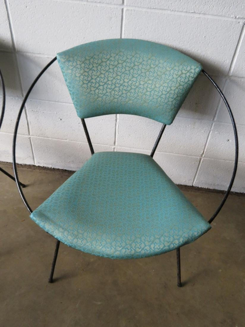 Two mid century modern Circle Chairs, attributed to - 3