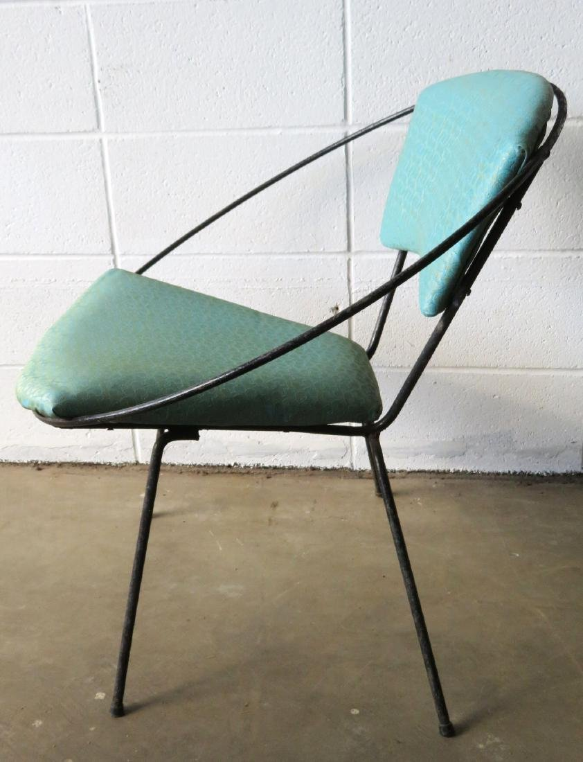 Two mid century modern Circle Chairs, attributed to - 4