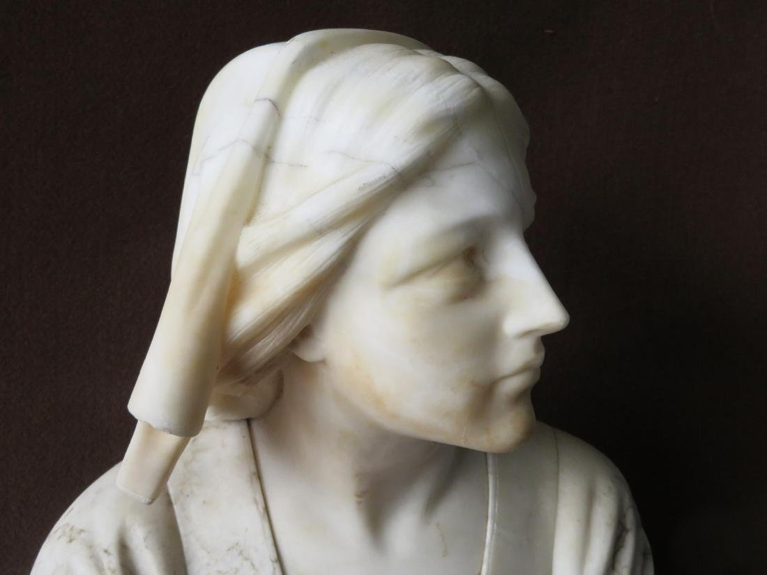 A marble bust of Florence Nightingale (Italian - 3