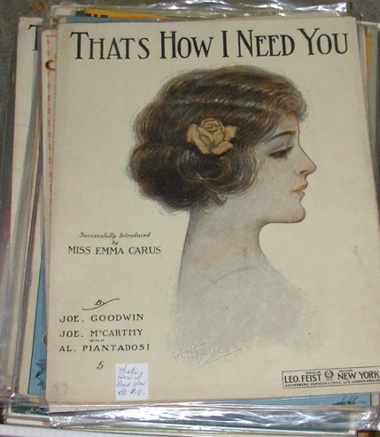 9: Large Lot of Vintage Sheet Music, 100+ Sheets