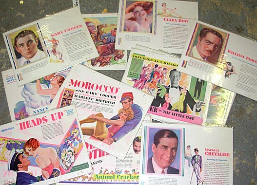 11: Lot 17 Vintage Motion Picture Advertising Sheets