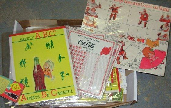 14: Vintage Coca-Cola ephemera
