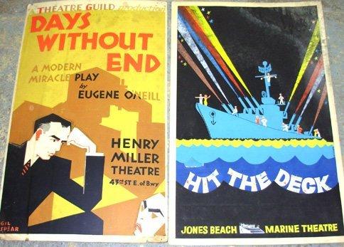 17: 18 Silkscreen, etc. Theatre Guild Posters 1940s-50s