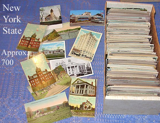 211: 900 New York State Postcards, 1900s-1950s