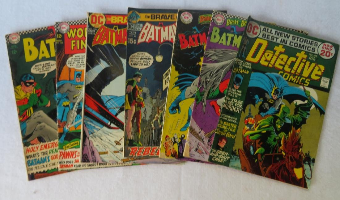 Comic books, Batman related, total of 22 including: - 3