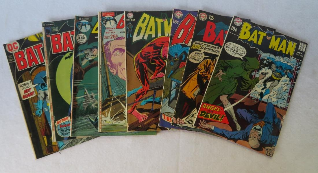 Comic books, Batman related, total of 22 including: - 4