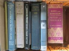 Grouping of antique reference books including The