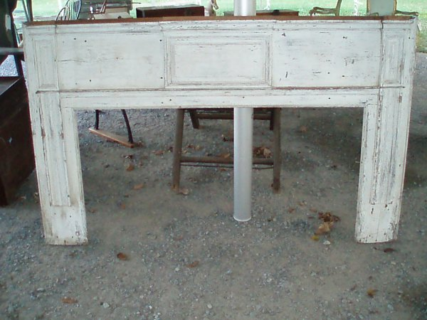 1014: Early 19th c. Fireplace Front w/Raised Panels (mi