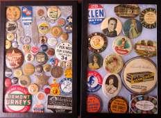 Grouping of 50 vintage advertising and promotional
