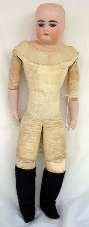 "7: 16"" German ABG Turned Shoulder Head Doll, incised 63"