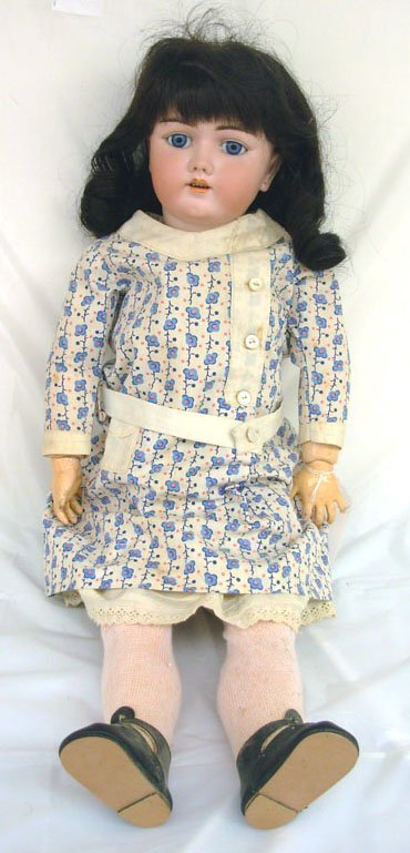 "18: 24"" Heinrich Handwerck German Bisque Head Doll, inc"