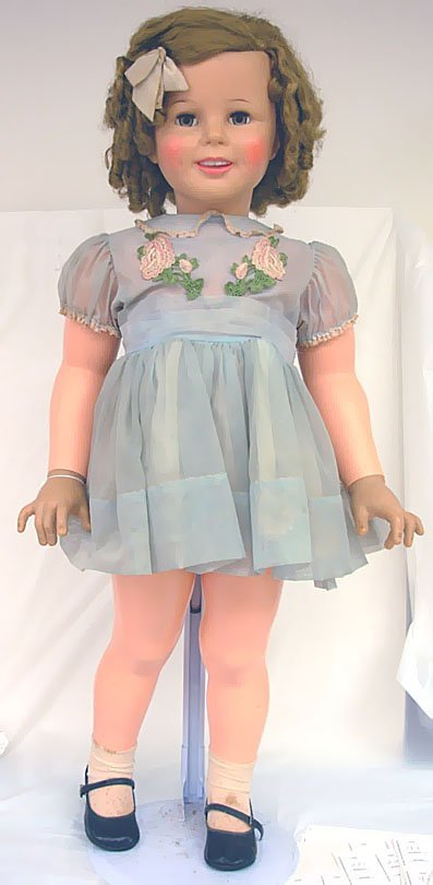 "23: 36"" Shirley Temple Vinyl Doll, original clothes, da"