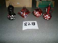 828: Collection of Forty-Eight Vintage Glass Christmas
