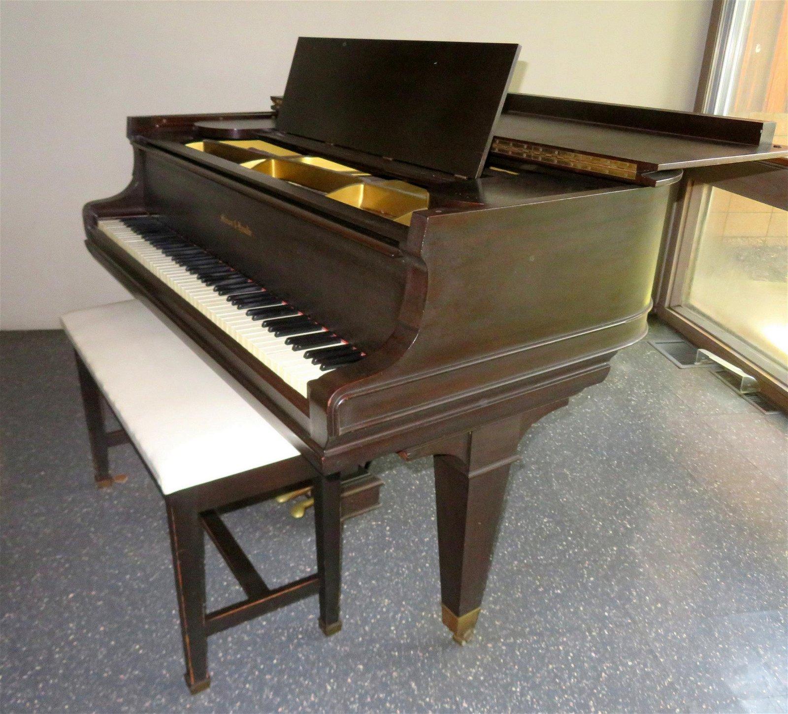 MASON & HAMLIN Grand piano Model Ax6, Tension Resonator