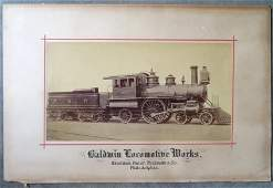 Two large folio unframed advertising railroad