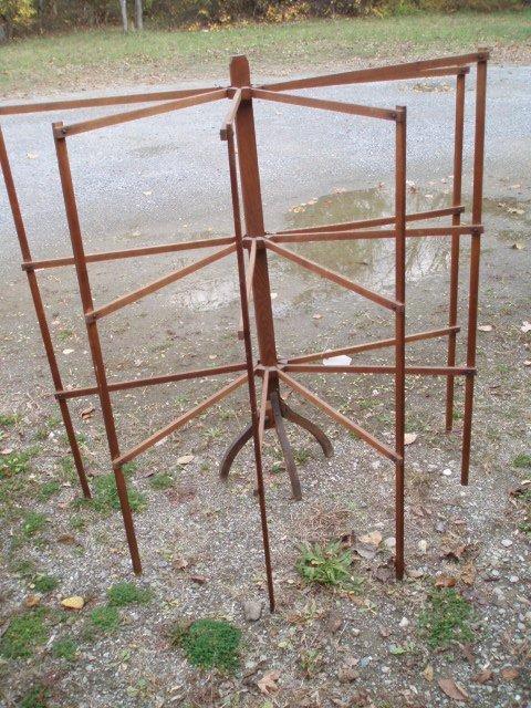 3: Two drying racks