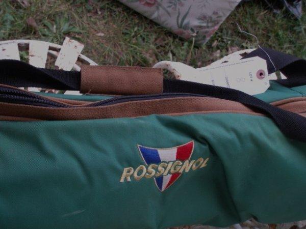 8: Rossignol skis in weatherproof case plus Nordica ski