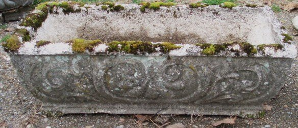 13: Seven 19th c. cut-stone planters (as is)