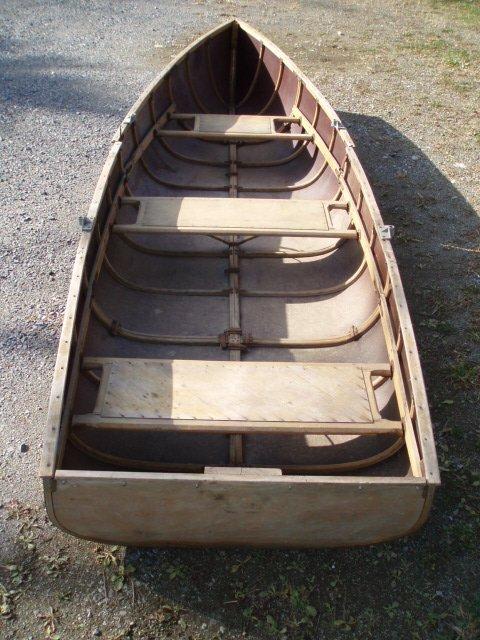 21: Linkanoe or Linkboat  sectional canoe/boat. 11.5'