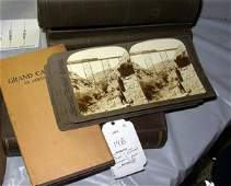 148: Two boxes of stereoviews - one on national parks -