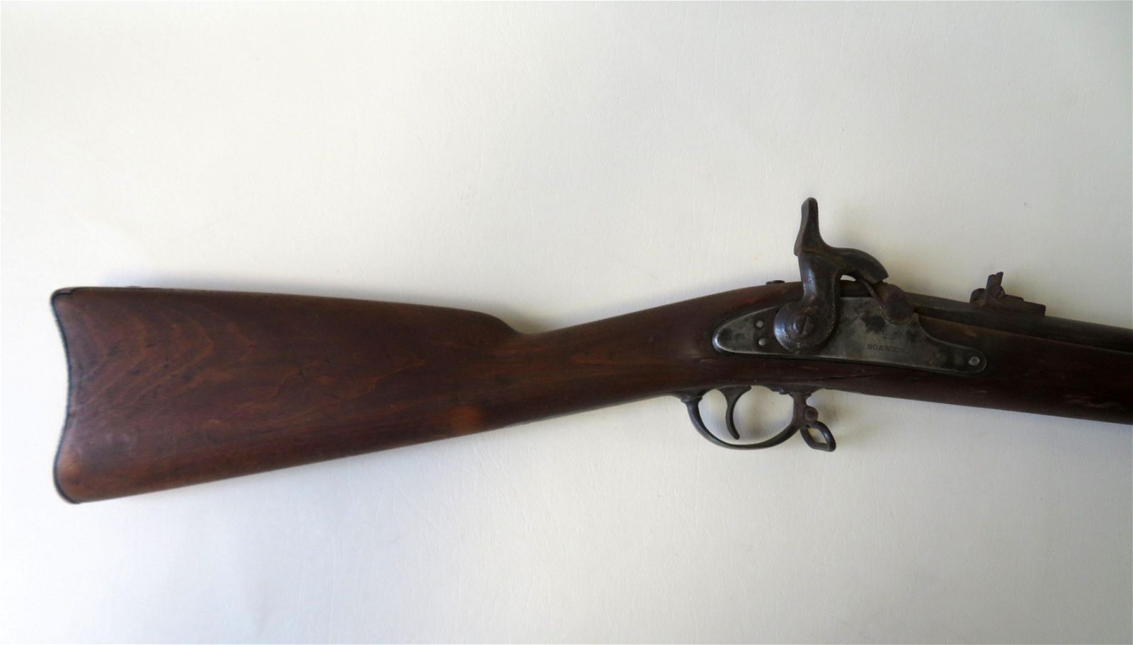 U.S. Norwich Civil War percussion musket, model 1863 as