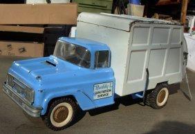 7: Buddy-L Sanitation Service truck 1967 Ford, #5469 ve