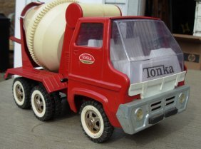 Tonka Gas Turbine Cement Truck, Late 60's Very Litt