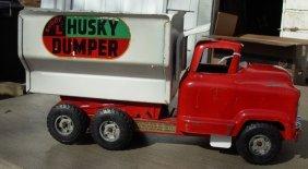 16: Buddy-L Husky Manual Dump 50's GMC, very good cond