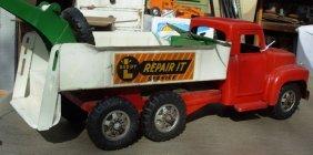 17: Buddy-L Repair-It-Service truck International w/jac