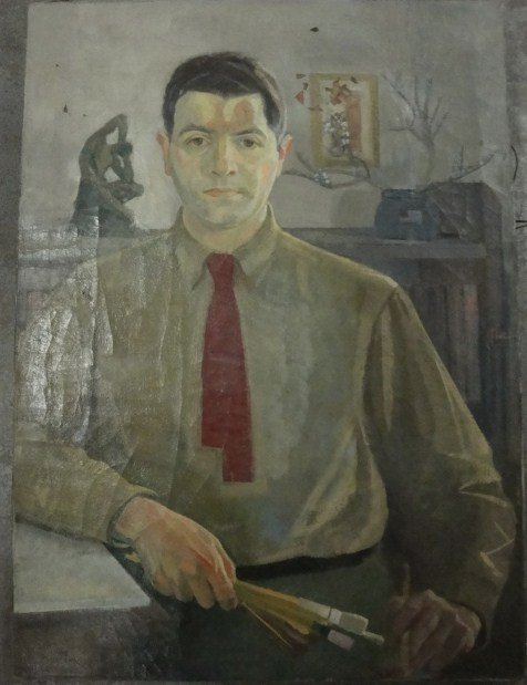 3: Three O/C portraits. Self portrait of artist holding