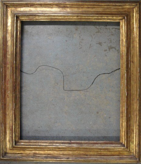 """21: Arts & Crafts period frame. Outside dimension 35""""x4"""