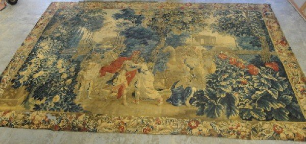 268: Large museum quality tapestry - 19th century or ea