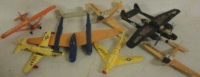 7: Bild-A-Set flying model airplane (unassembled) + 7 w