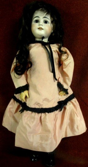 German Doll Signed Dep 44-31 - Probably Gebruder K