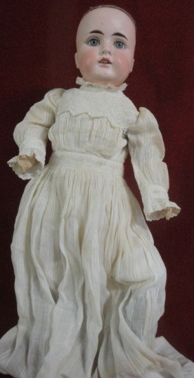 "German Doll - Marked No. 10 - 22"" H - Plaster Over"