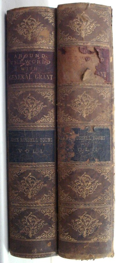 15: Around the World with General Grant, 2 vol's, publi