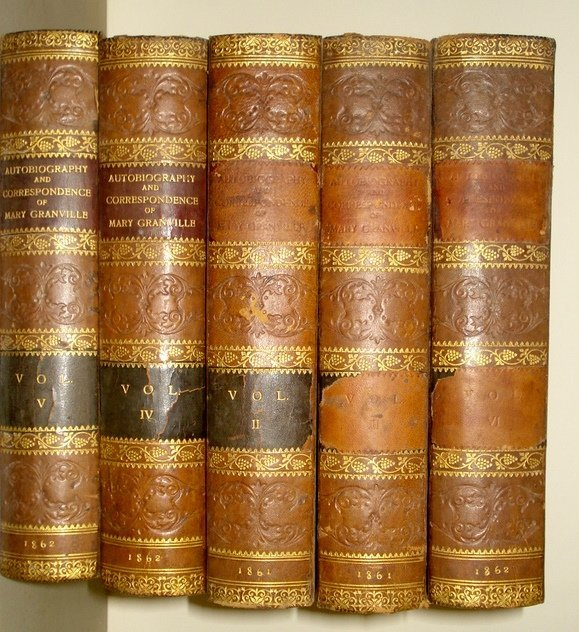 17: Eight leather bound books including 3 vol's The Pas