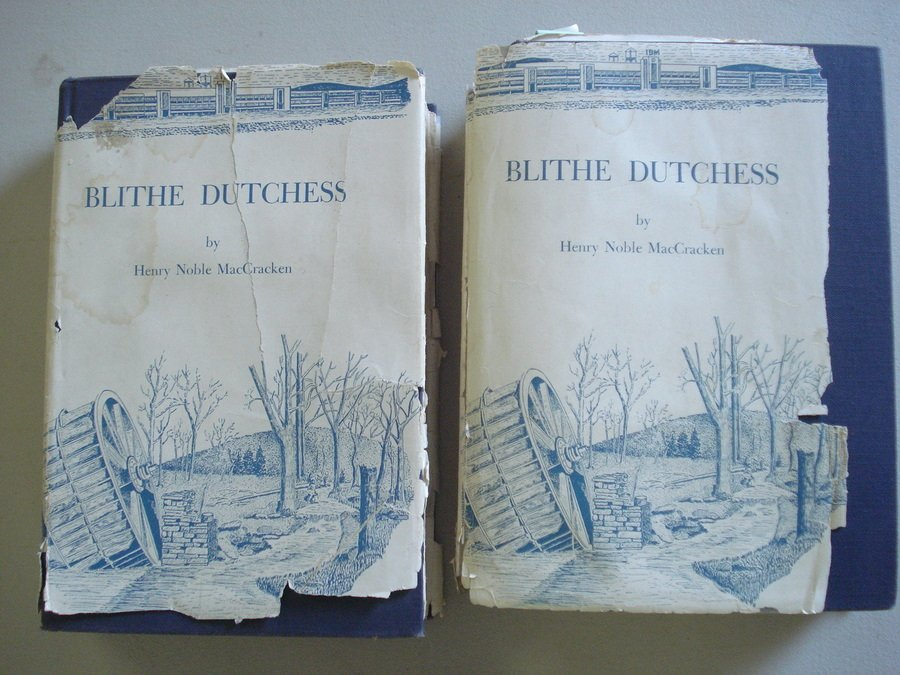 "18: Two books entitled ""Blithe Dutchess"" by Henry Noble"