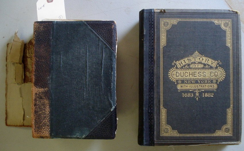 "19: Two books entitled ""History of Duchess Co. NY"" with"