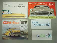 111: Collection of approx. 19 automobile dealership bro